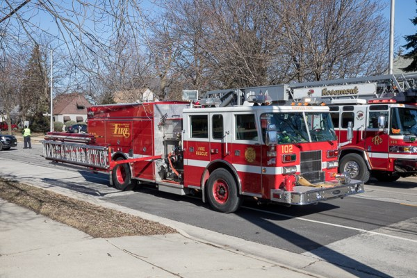 Norwood Park FPD fire engine