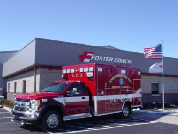 Libertyville Fire Department ambulance