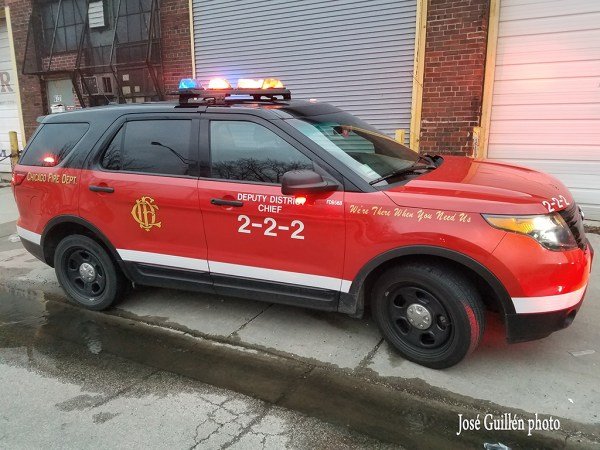 Chicago FD Deputy District Chief 222