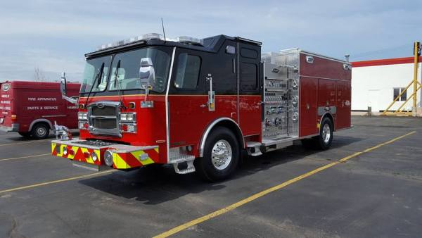 new fire engine for the Long Grove Fire District