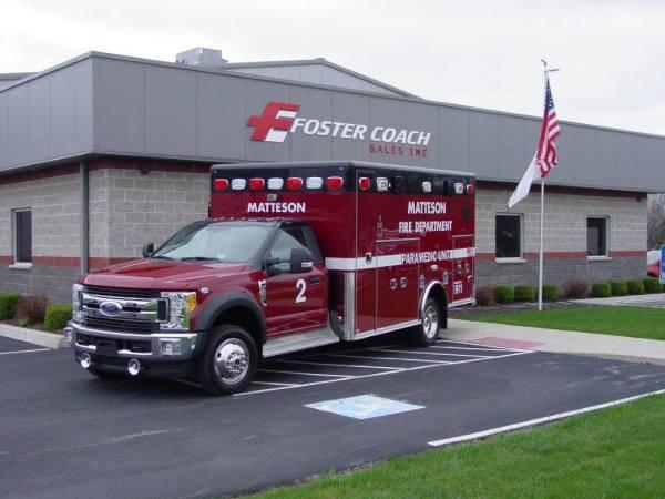 Matteson Fire Department Ambulance 2