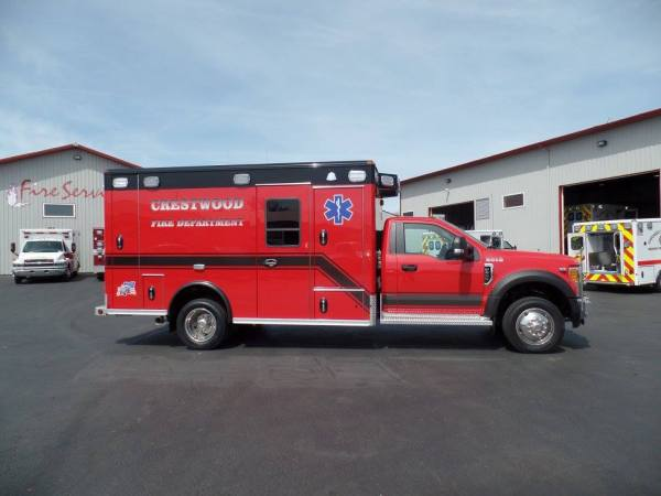 Crestwood FD ambulance