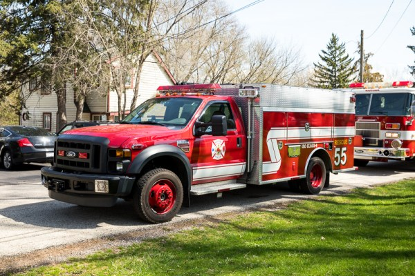 Nunda Rural FPD mini pumper