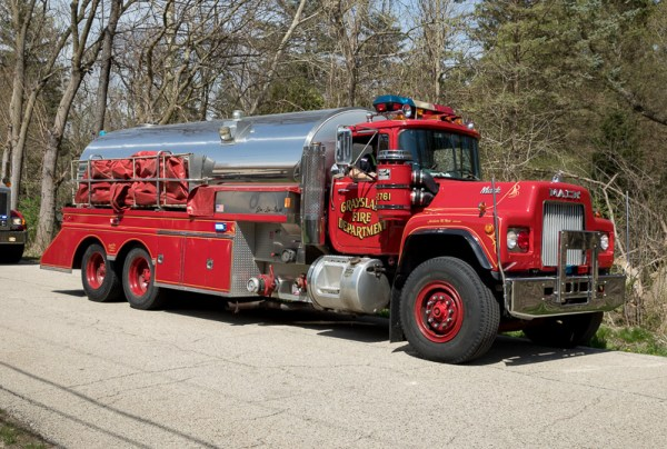 Grayslake FPD tanker