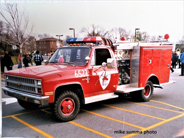Chicago Ridge FD history