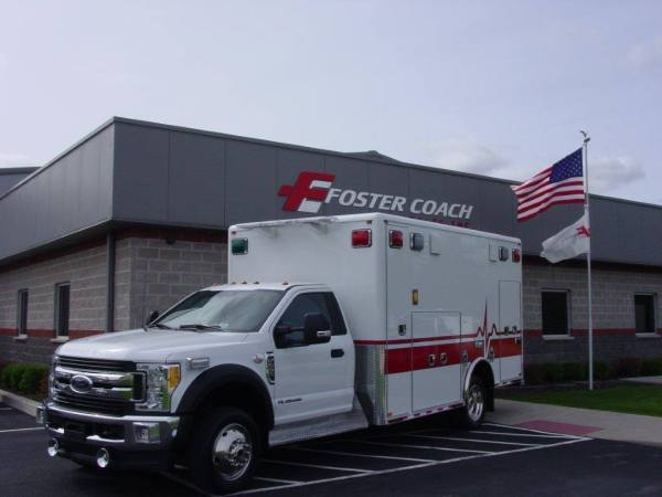 new ambulance for Elk Grove Village