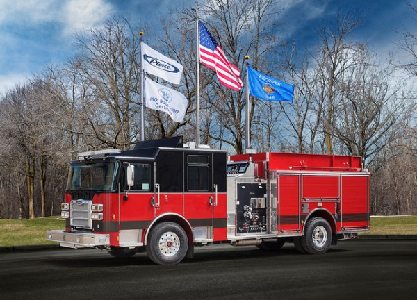new fire engine for the Marengo FPD in Illinois
