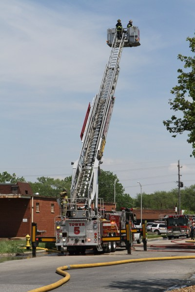 Matteson FD tower ladder