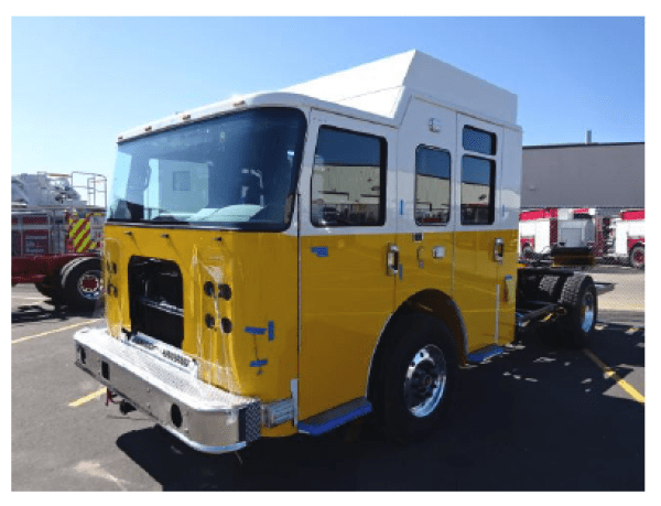 fire truck being built for Clarendon Hills IL