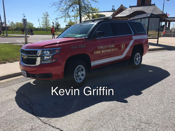 Tinley Park FD Assistant Chief car
