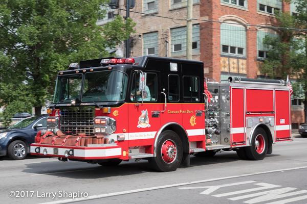 Chicago FD Training Division engine