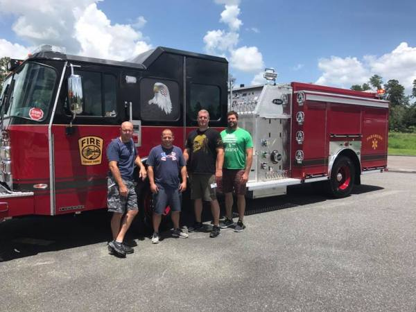 new fire engine for the Forest Park FD Engine 401