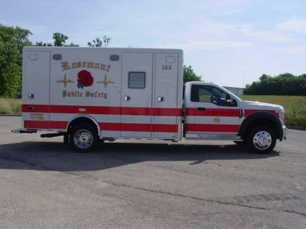 Rosemont Public Safety ambulance