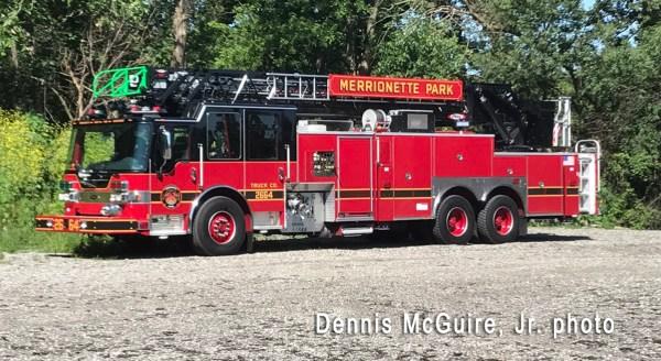 Merrionette Park Fire Department fire truck