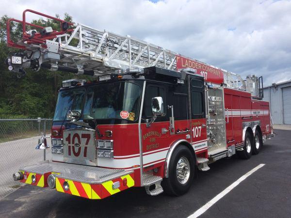 Bensenville FD Ladder 107