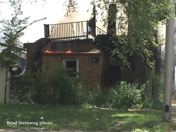house fire in Harvey IL