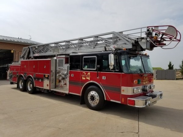 Hoffman Estates FD fire truck for sale