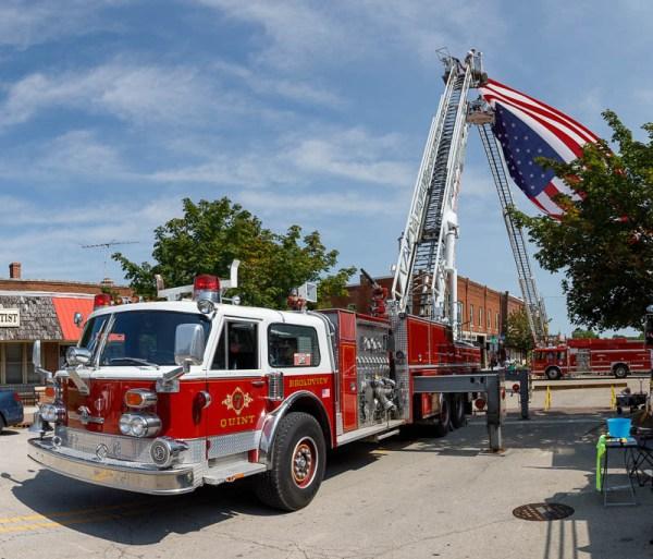 former Broadview fire truck