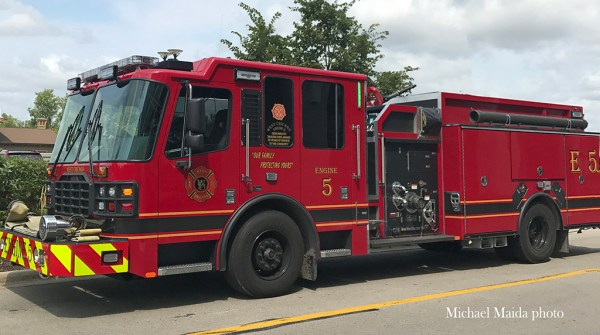 West Chicago FPD Engine 5