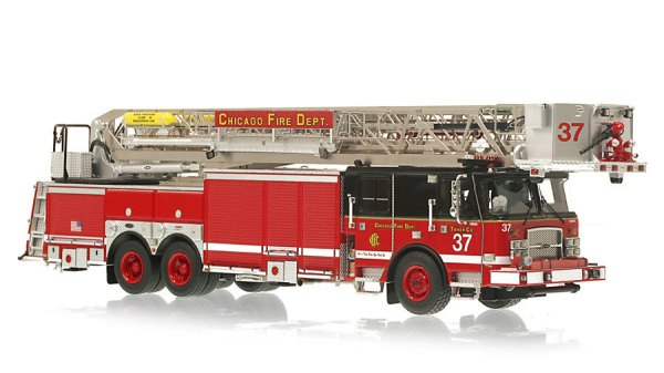 Chicago FD Tower Ladder 37 replica model