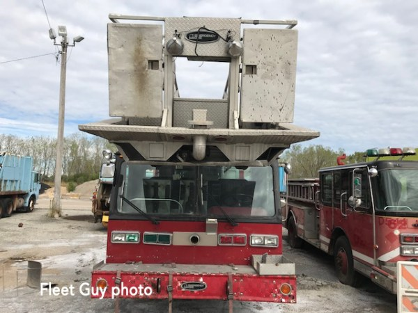 1985 E-One Tower Ladder for sale at auction