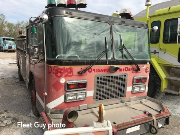 old Chicago fire engine going to auction