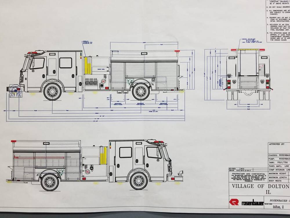 medium resolution of posts tagged drawing of a new fire engine for the dolton fd