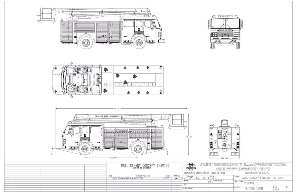American Lafrance Fire Engines