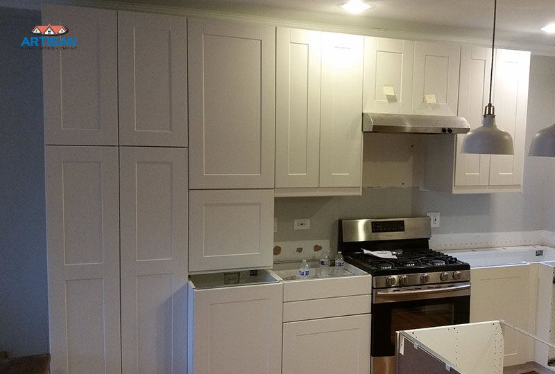 Pine Grove Ikea Cabinets Chicago Contractor