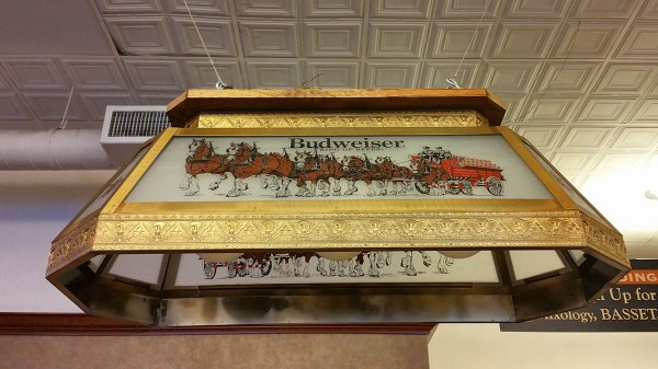 Budweiser Pool Table Lights Clydesdale - Ideas