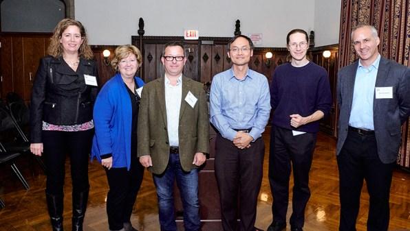 Symposium speakers: Barbara Stranger, Nancy Cox, Peter Penzes, Chunyu Liu, Mark Daly and Dan Geschwind