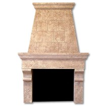 Italian Country | Cast Stone Overmantel Fireplaces