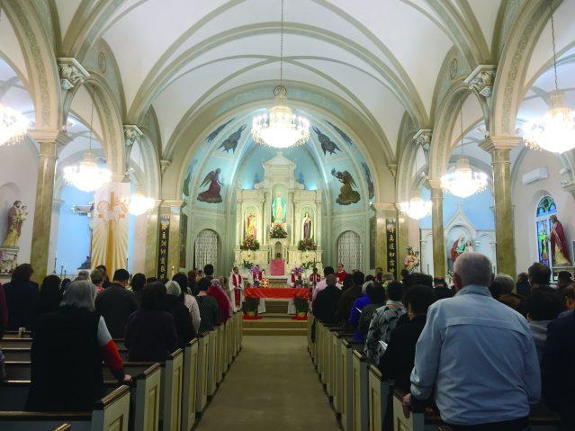 天主教堂做禮拜