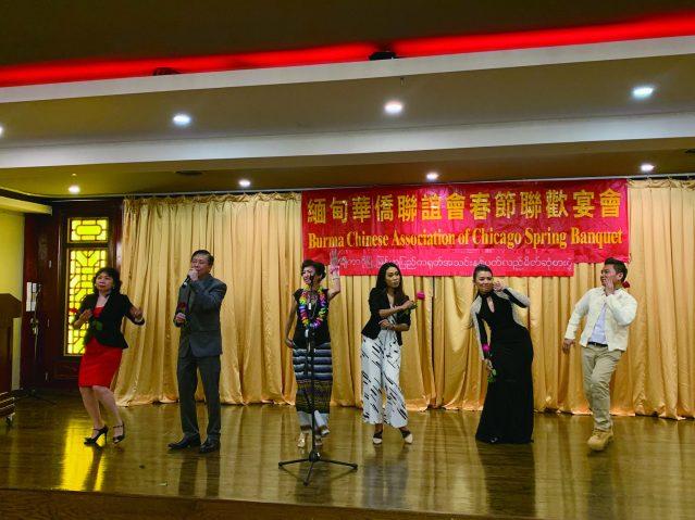 照片十七:緬華會成員為大家帶來緬甸歌曲 十分歡樂