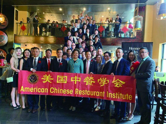 照片十:美國中餐學會舉辦歡迎中國餐飲企業家代表團午宴及軒尼詩品鑒酒會