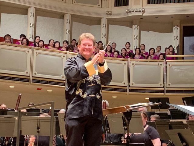 照片十四:著名指揮家Jeff Doebler