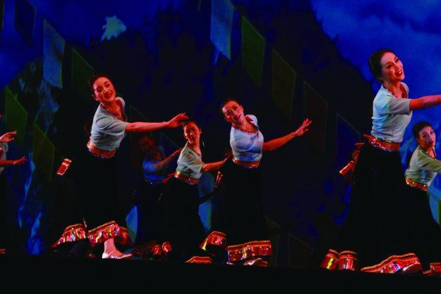 7.藏族歌舞《祝福》,祝福祖國繁榮富強