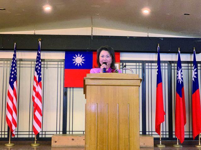 9.卸任主席黃於紋感謝大家四年來對她的支持和信任
