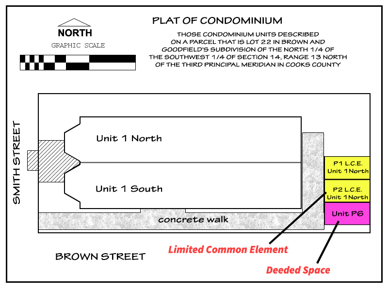 condominium parking plat