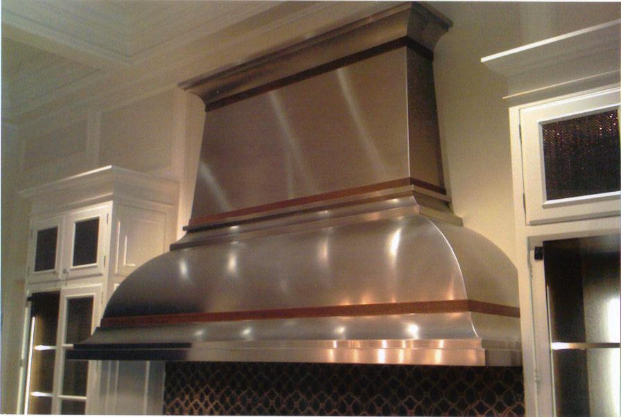 Custom Stainless Steel French Bell Kitchen Hood