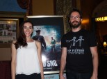 Jocelyn Deboer and Martin Starr