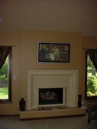 Indoor fireplace - Chicago Fireplace Inc