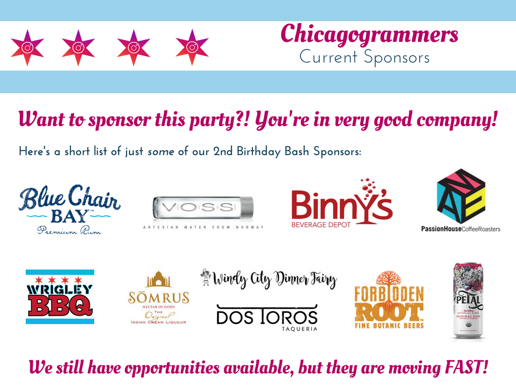 Chicagogrammers - 2nd Birthday Bash Sponsorship Deck