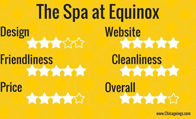 spa at equinox