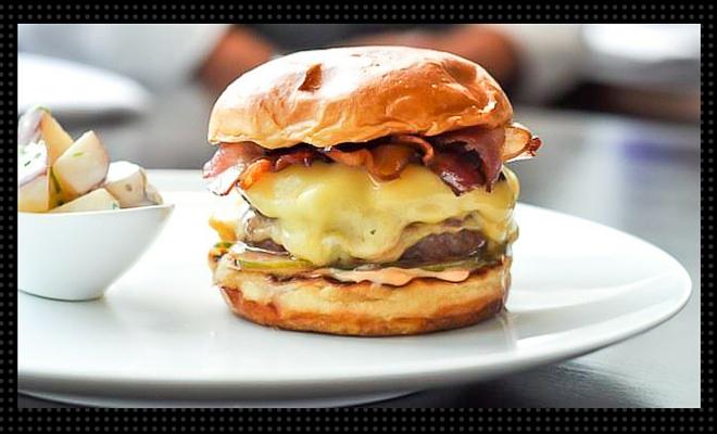 acadia burger