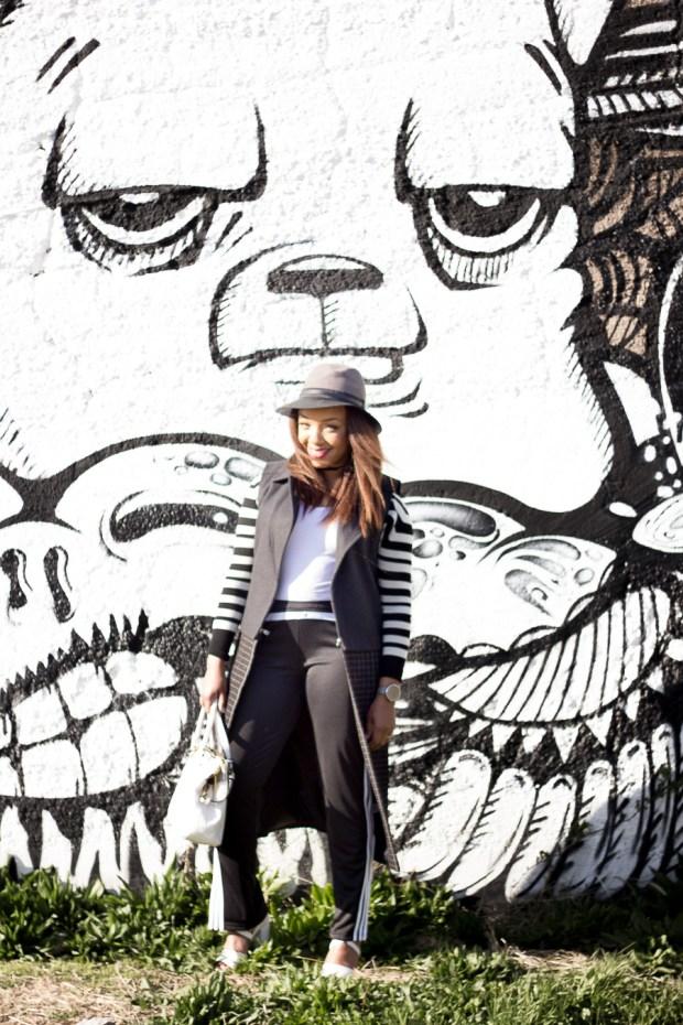 Black and White Street Art in Pilsen Chicagoings