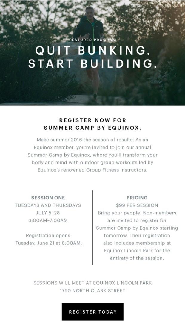 Equinox Summer Camp