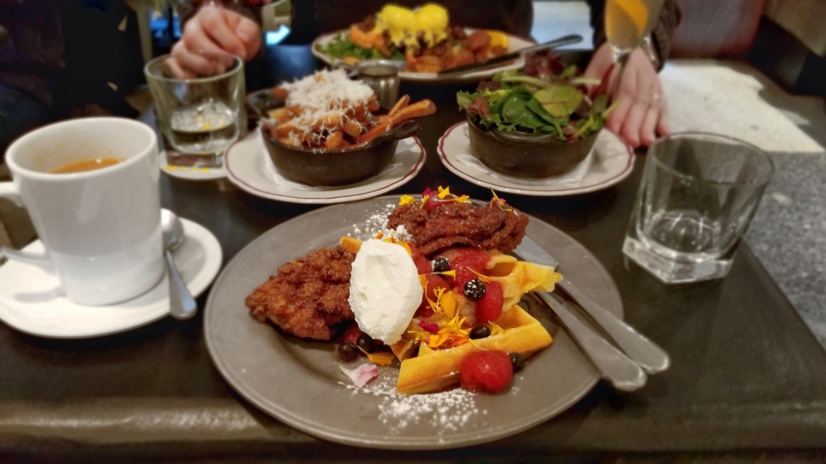 Brunch at the Drake Hotel in Toronto