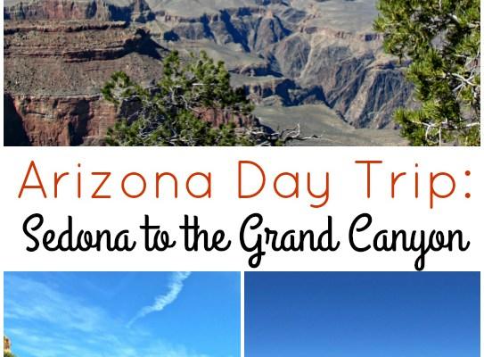 Arizona Day Trip: Sedona to the Grand Canyon