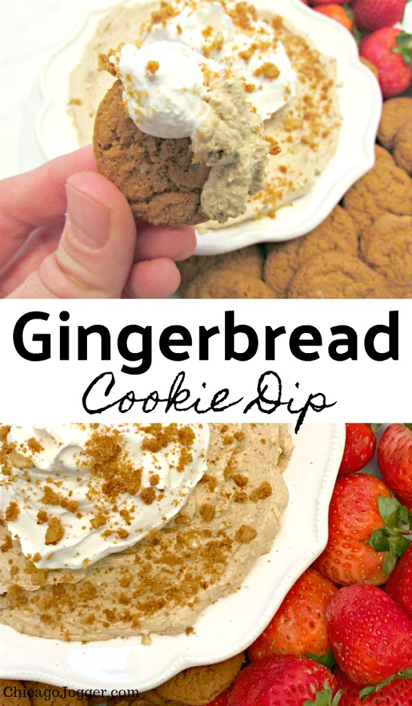 Gingerbread Cookie Dip | Chicago Jogger